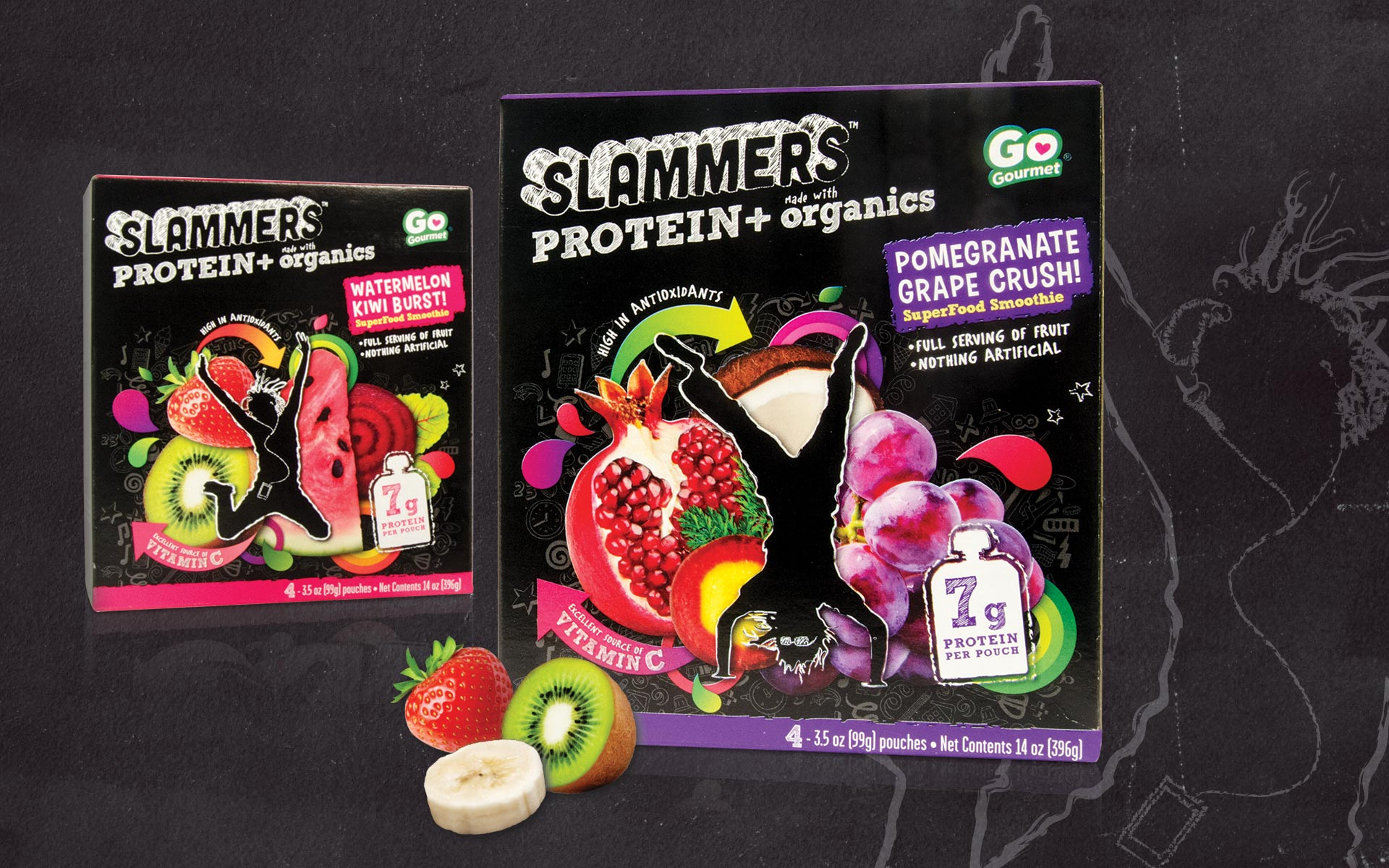 Slammers - Packaging Designs