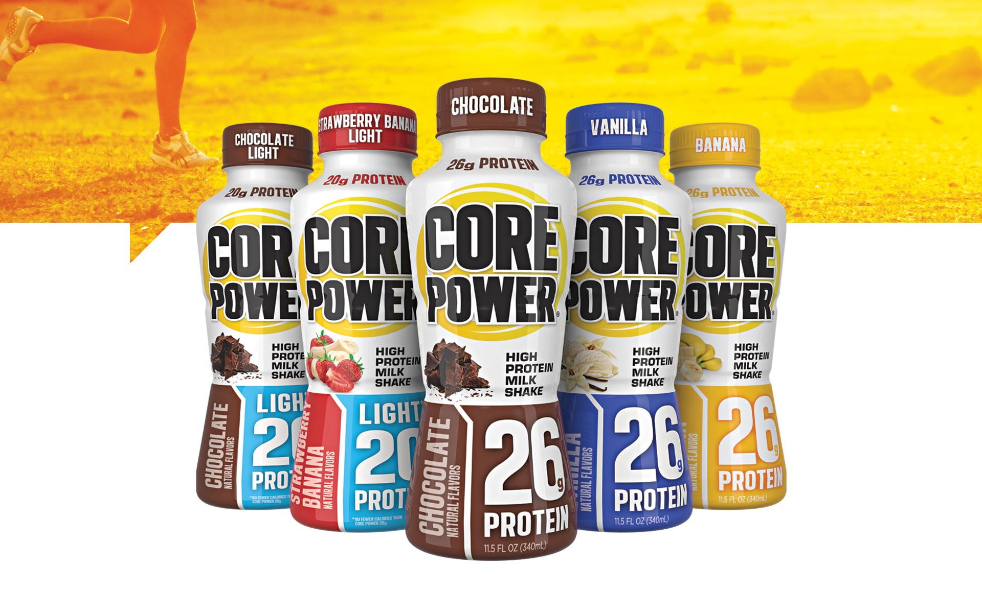Core Power - Brand Packaging Design