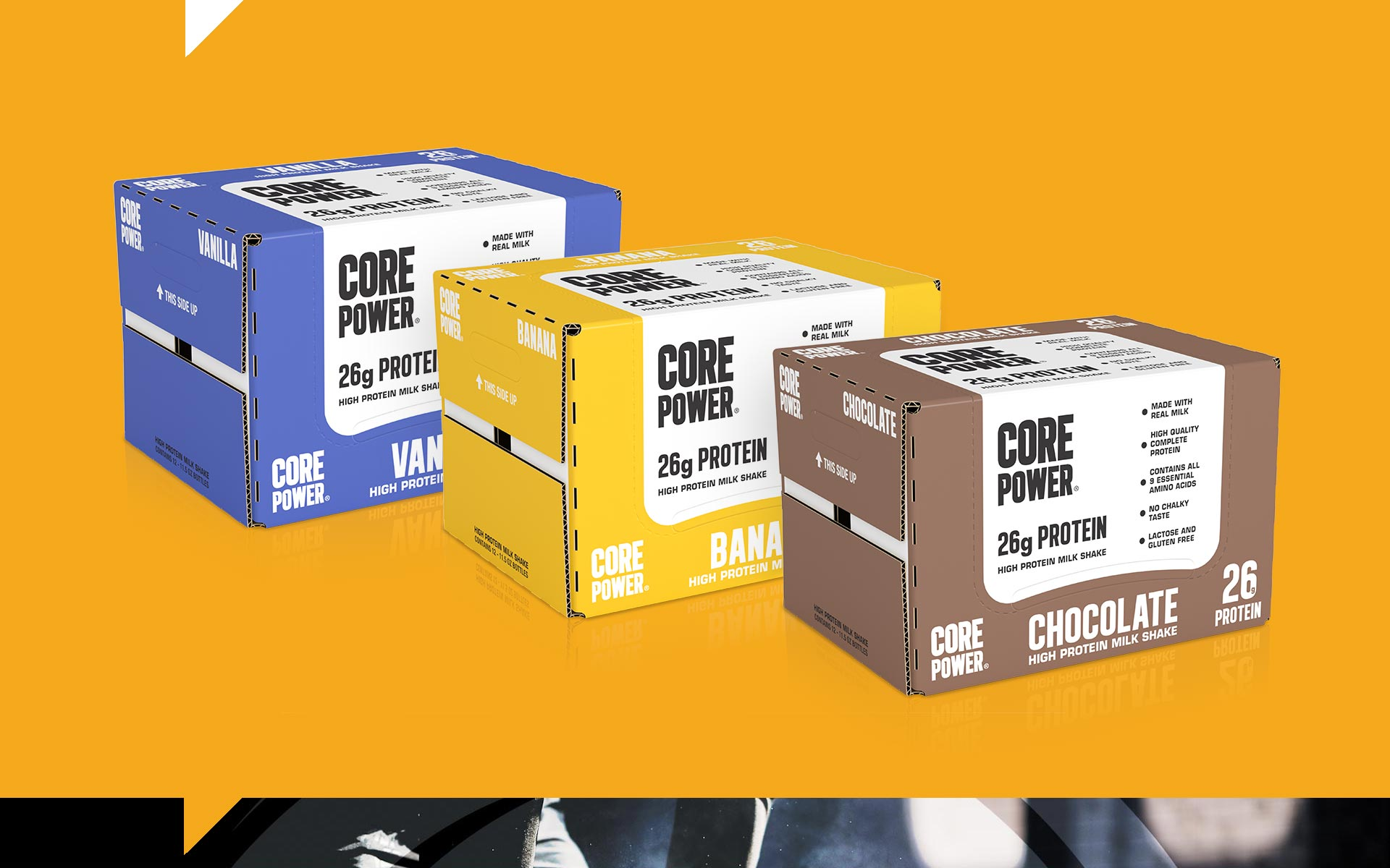 Core Power - Packaging Design Packs