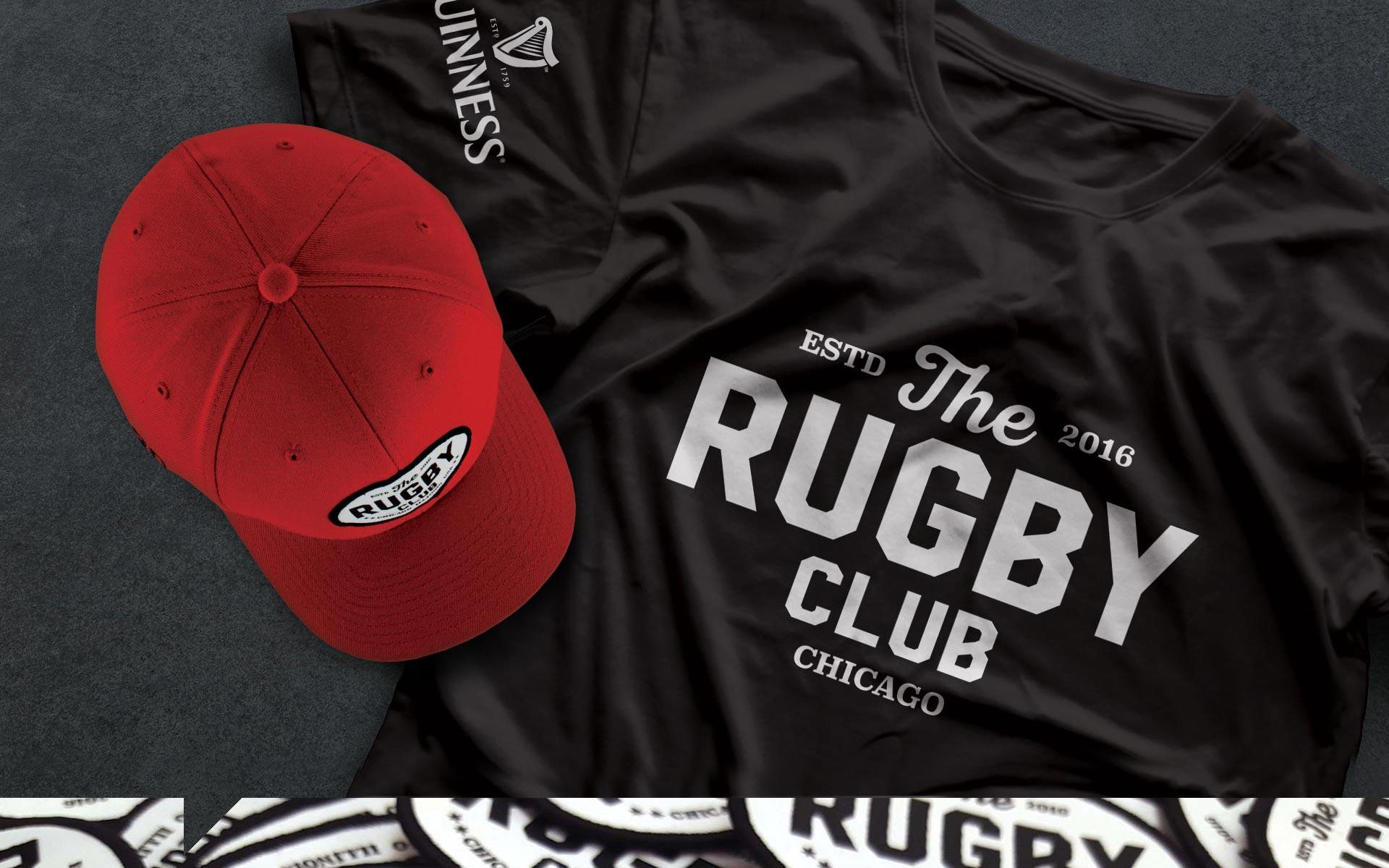 Rugby Club - Brand Identity Shirt