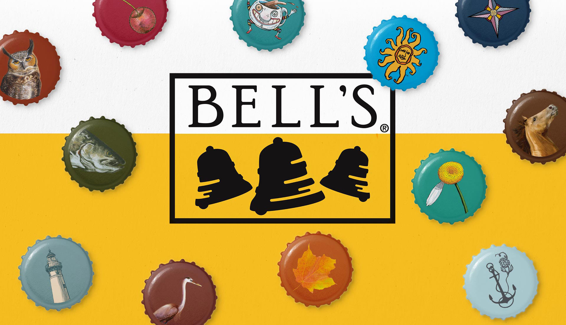 Bell's Brewery - Brand Identity and Bottle Caps