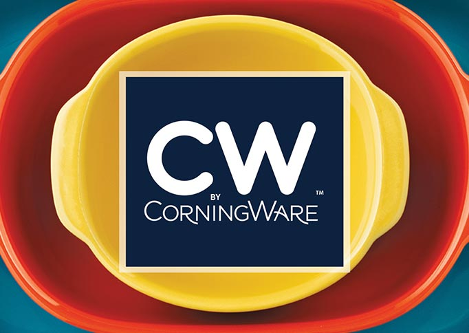 CW by CorningWare - Brand Identity and Packaging Design