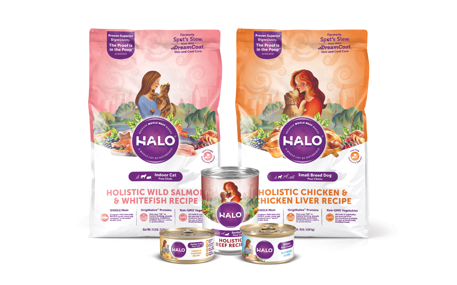 Halo - Brand Packaging Design