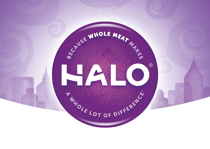 Halo Pet - Brand Identity, Packaging Design, Design Implmentation, Comp and Mock-Up
