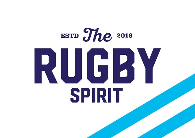The Rugby Spirit - Brand Identity and Comp and Mock-up