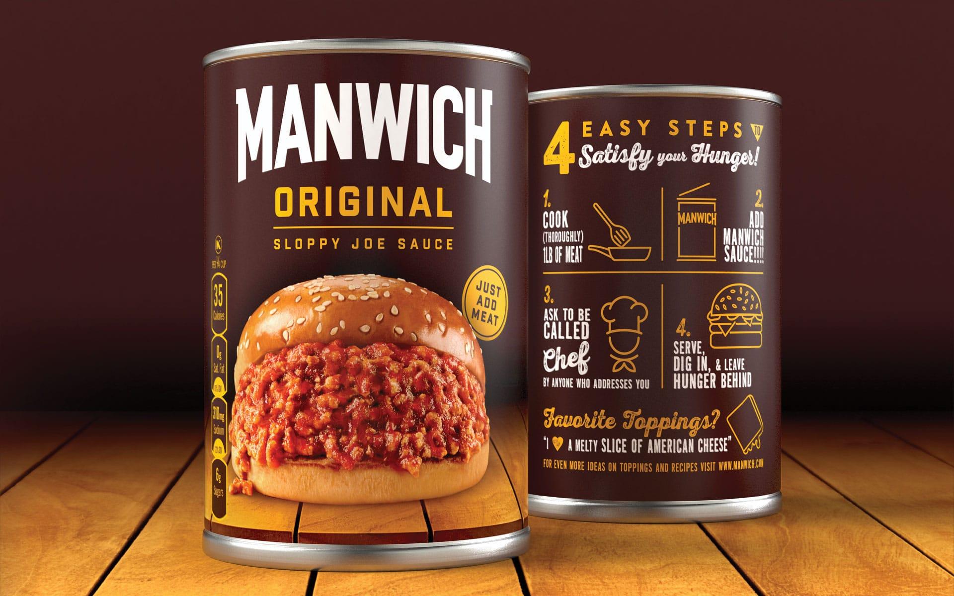 Manwich - Brand Packaging Design