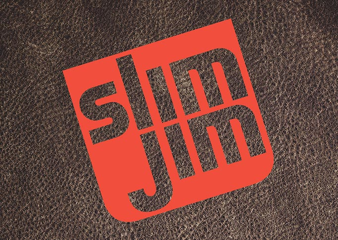 Slim Jim - brand identity, packaging design, comp and mock-up