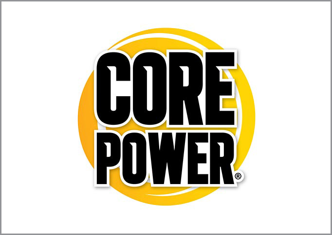 Core Power - Brand Identity, Packaging Design, Design Implementation, Comp & Mock-Up