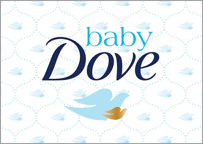 Baby Dove - Brand Strategy, brand identity, packaging design, structural design, comp and mock-up