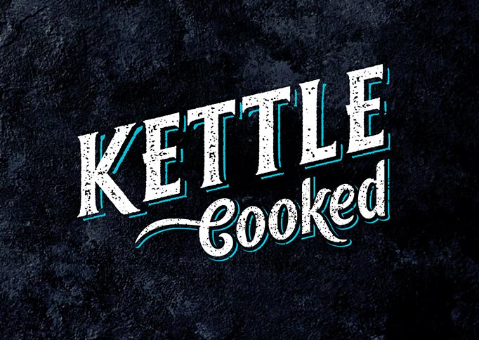Kettle Cooked - Brand Strategy, Brand Identity, Packaging Design, Design Implmentation, Comp and Mock-Up