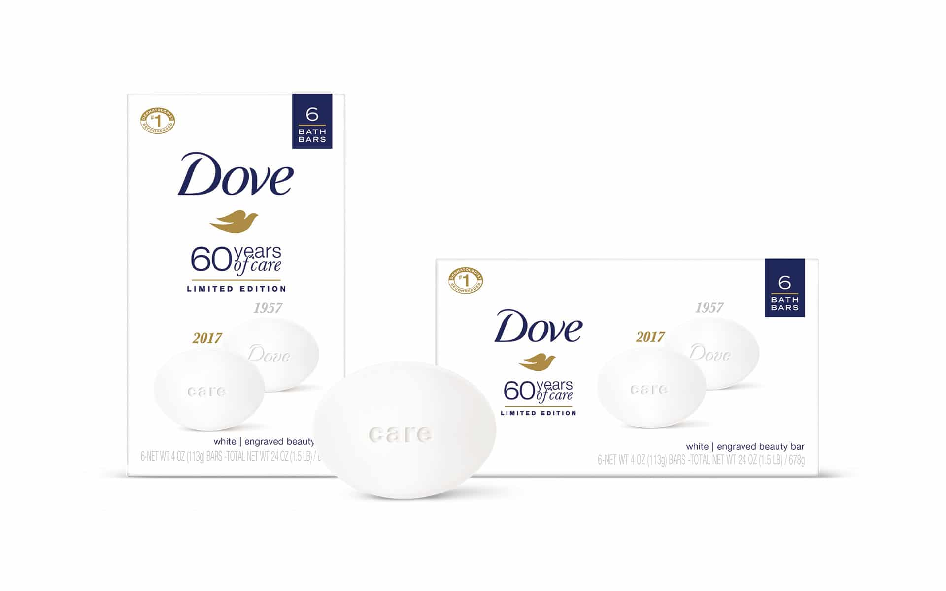 Dove 60th Anniversary - Packaging Design