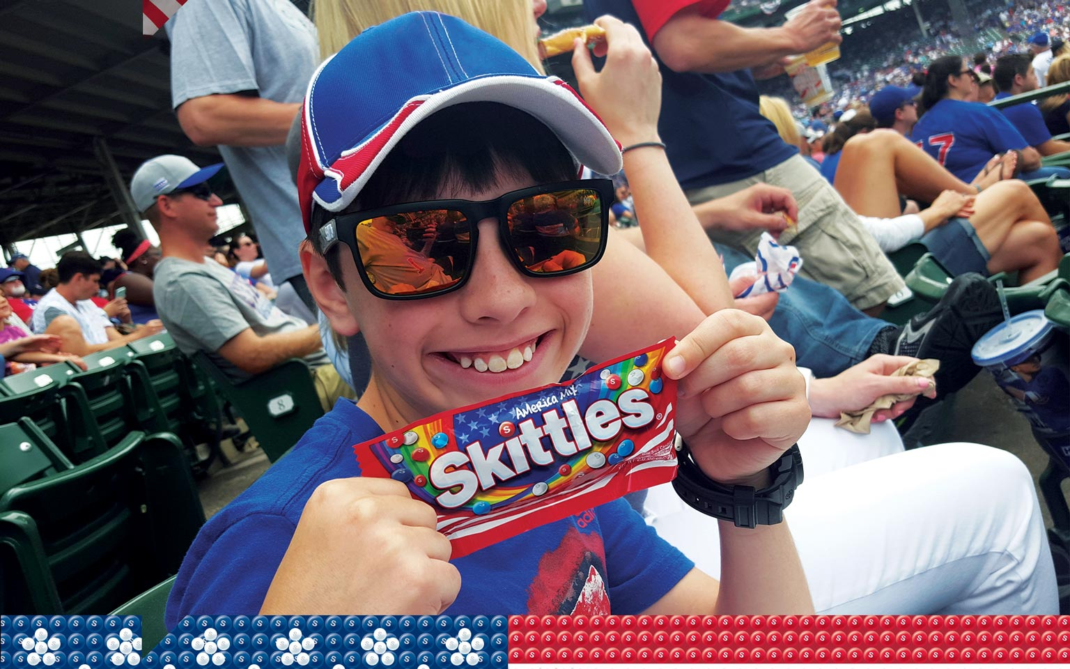 Skittles America Mix - In-Use