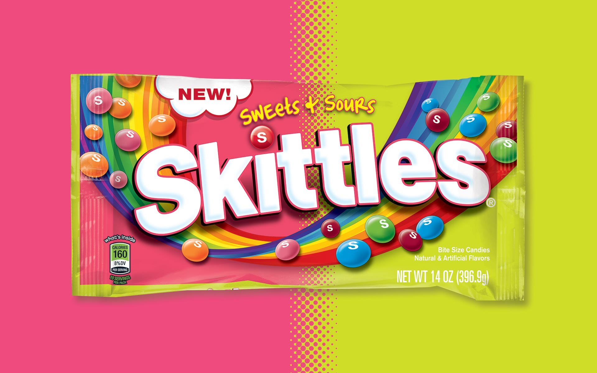 Wrigley Sweets and Sours - Brand Packaging Design