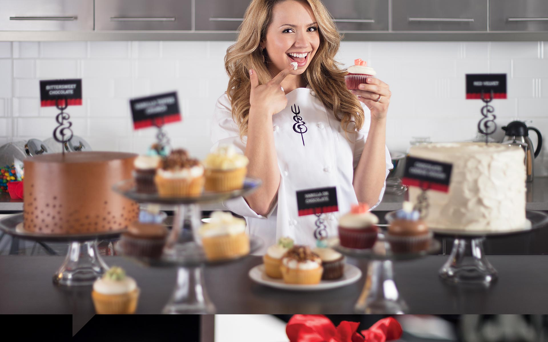 Whipped and Creamed Cupcakes - Brand Expression