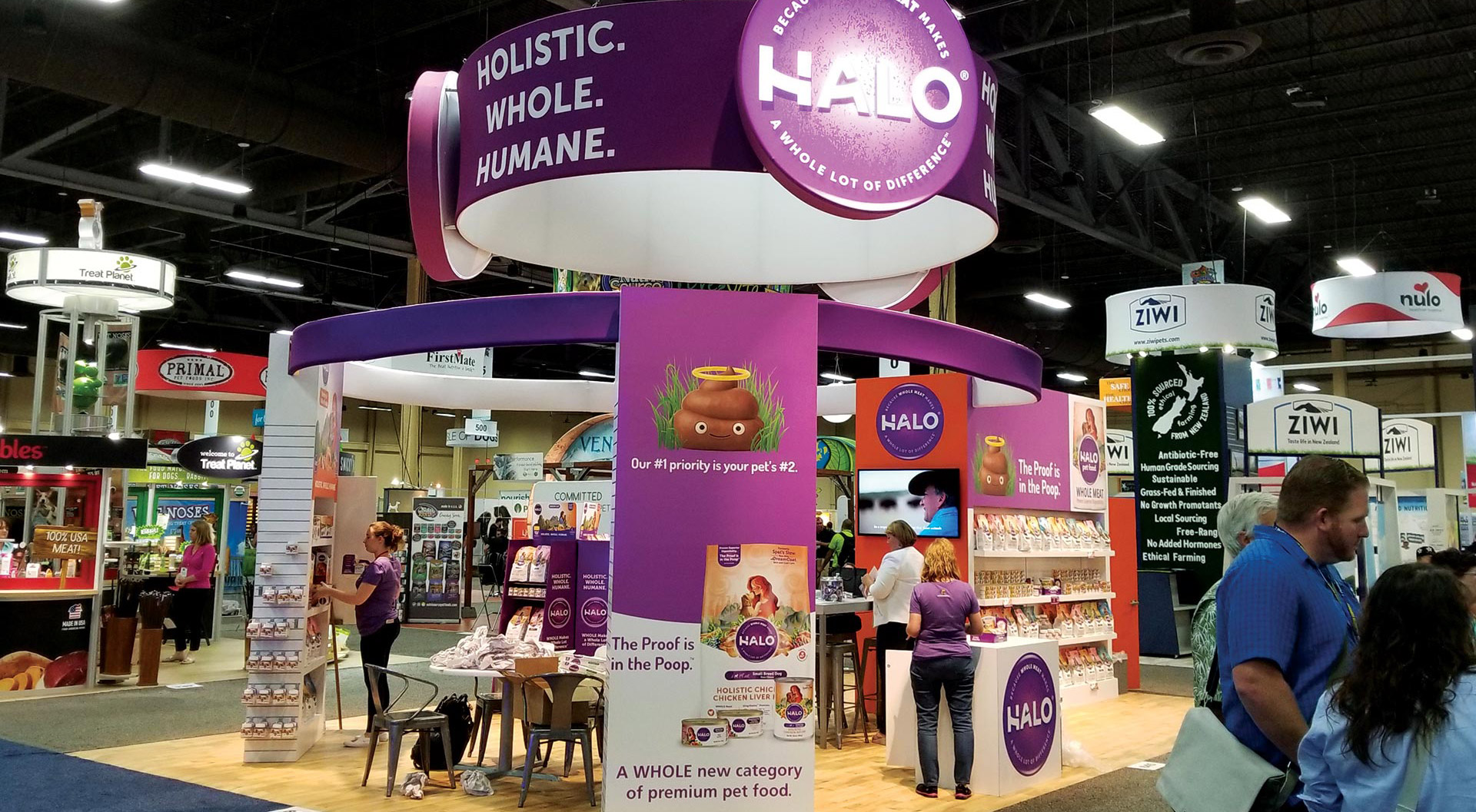 Halo - Tradeshow and Collateral