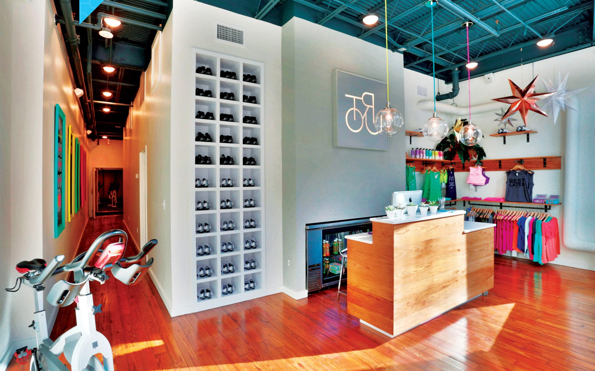 Tour Cycle Studios - Retail In-Store
