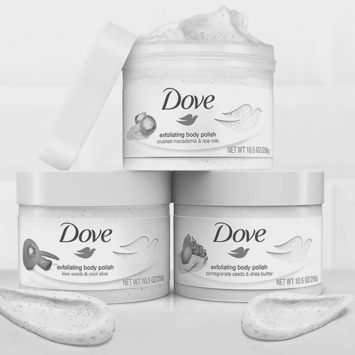 Unilever Dove Body Polish - Case Study