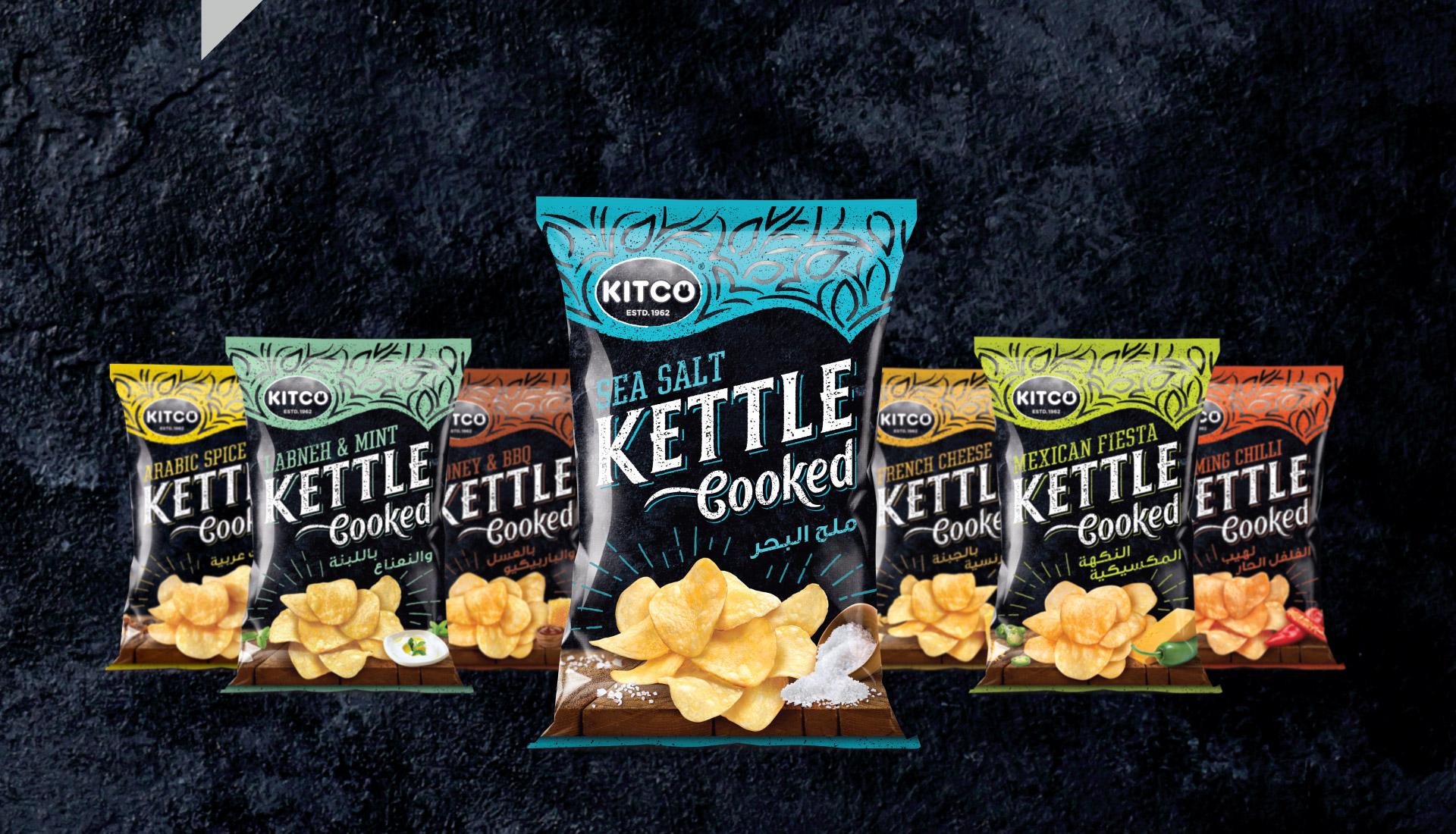 Kettle Cooked - Packaging Design Portfolio