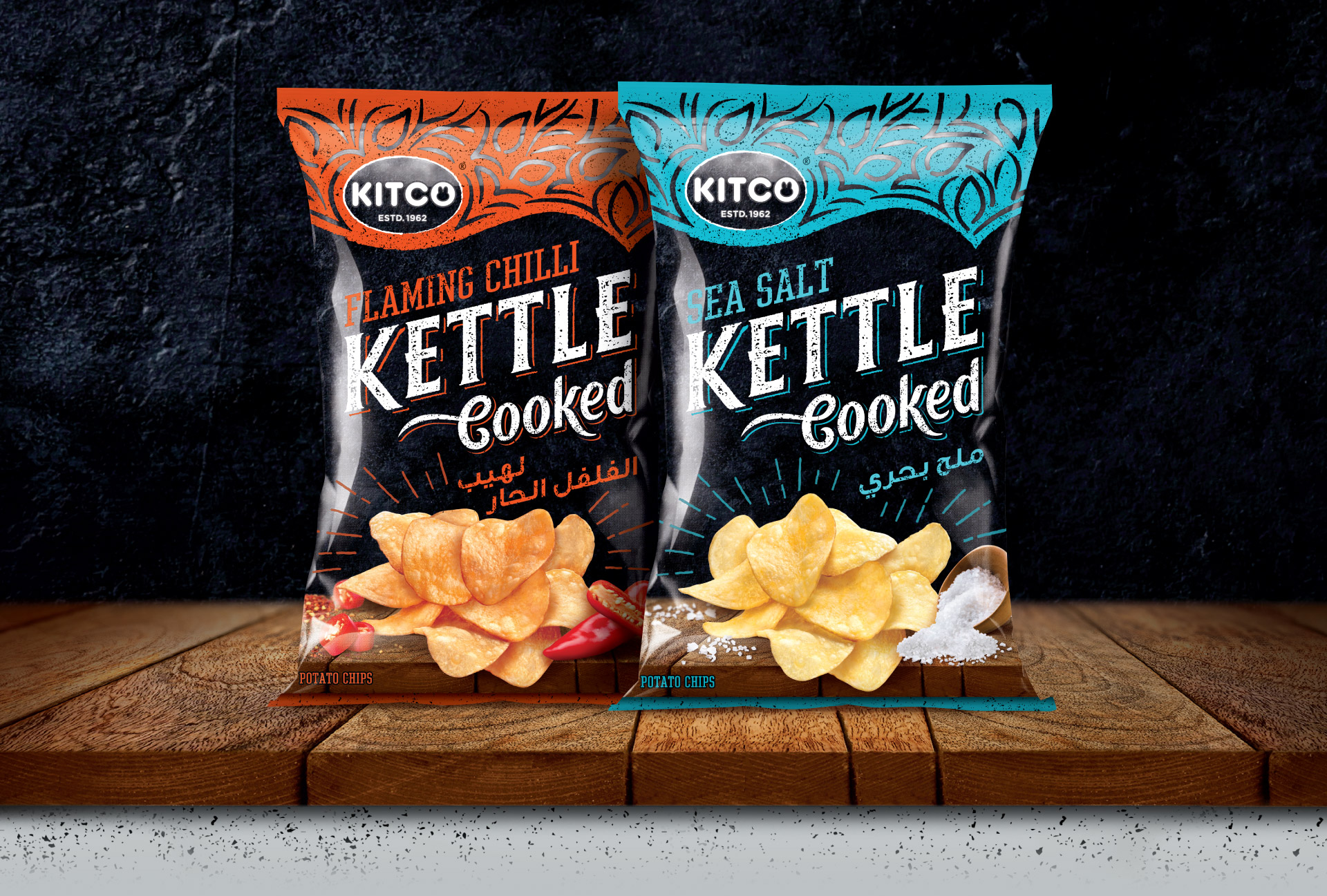 Kettle Cooked - Packaging Design
