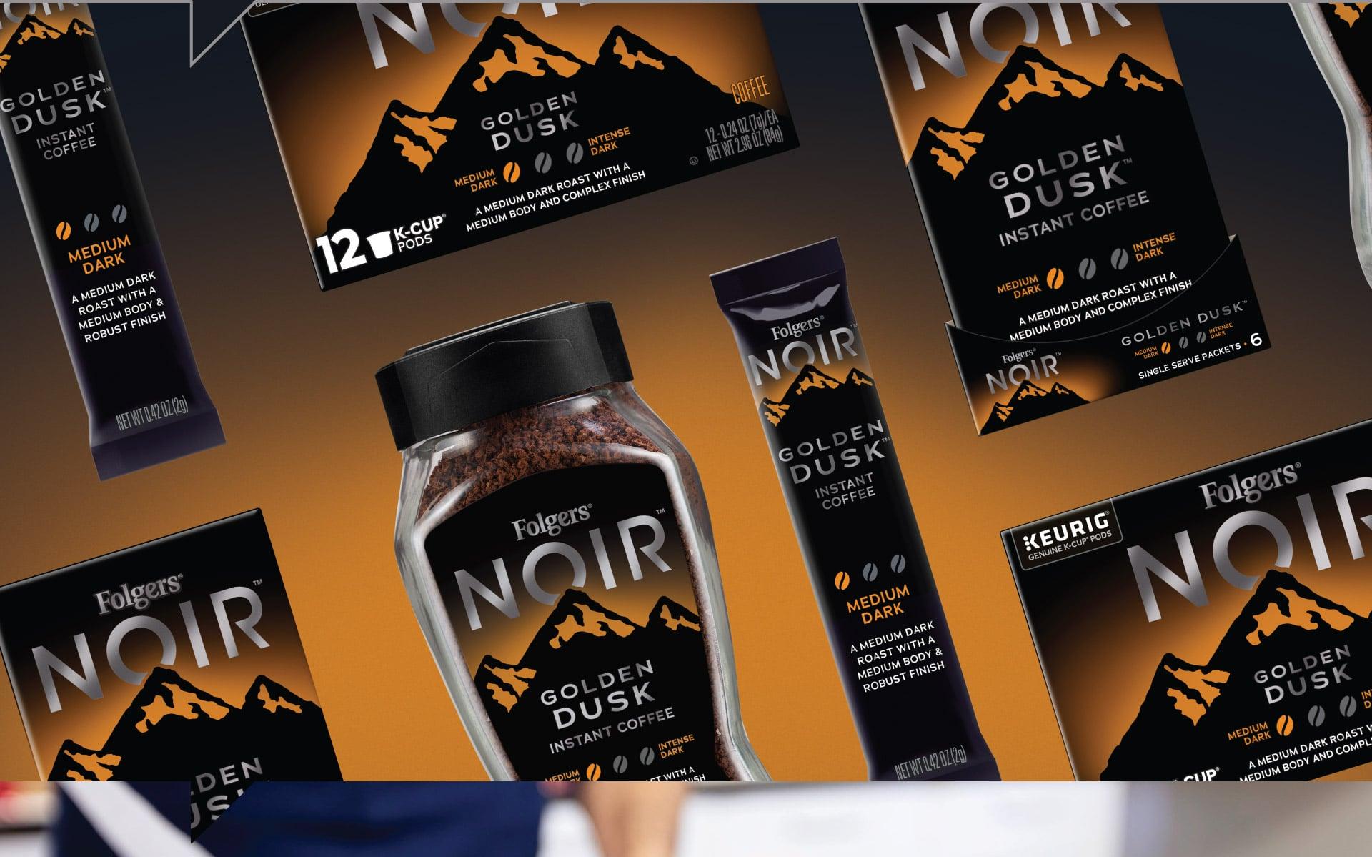 Folgers Noir - Packaging Portfolio