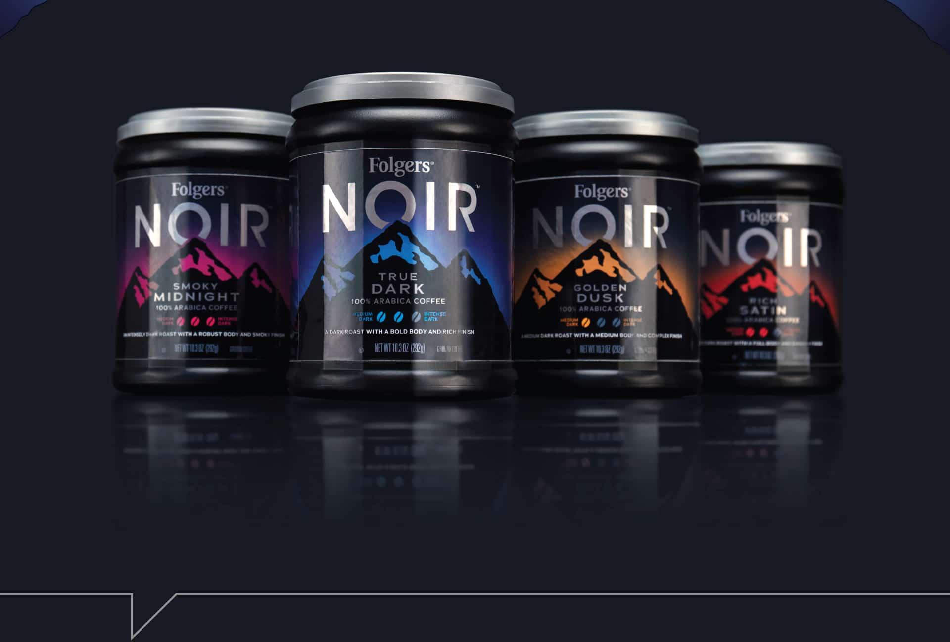 Folgers Noir - Packaging Design