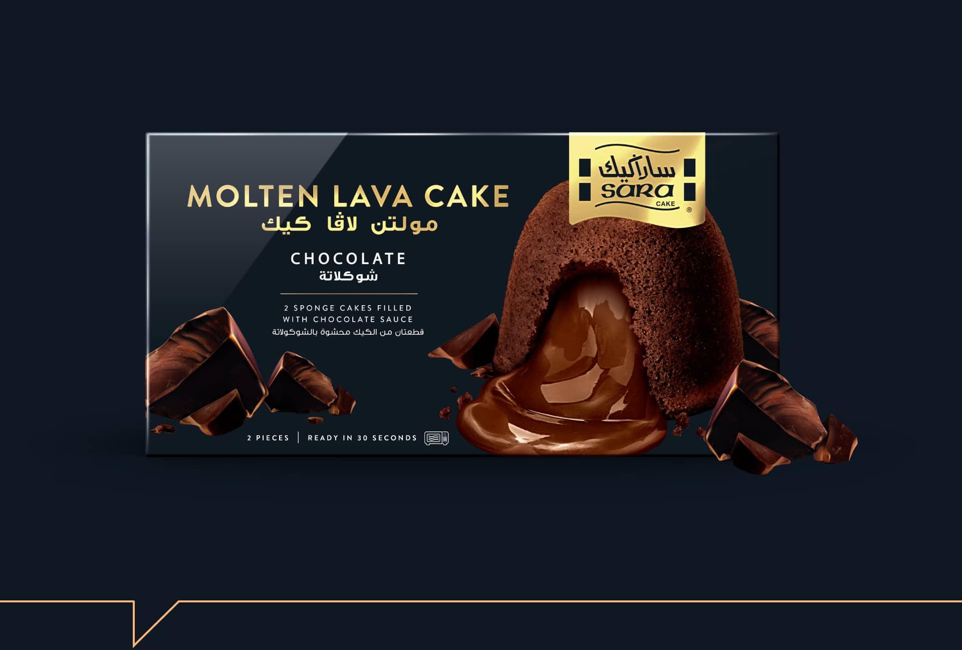 Sara Cake - Packaging Design