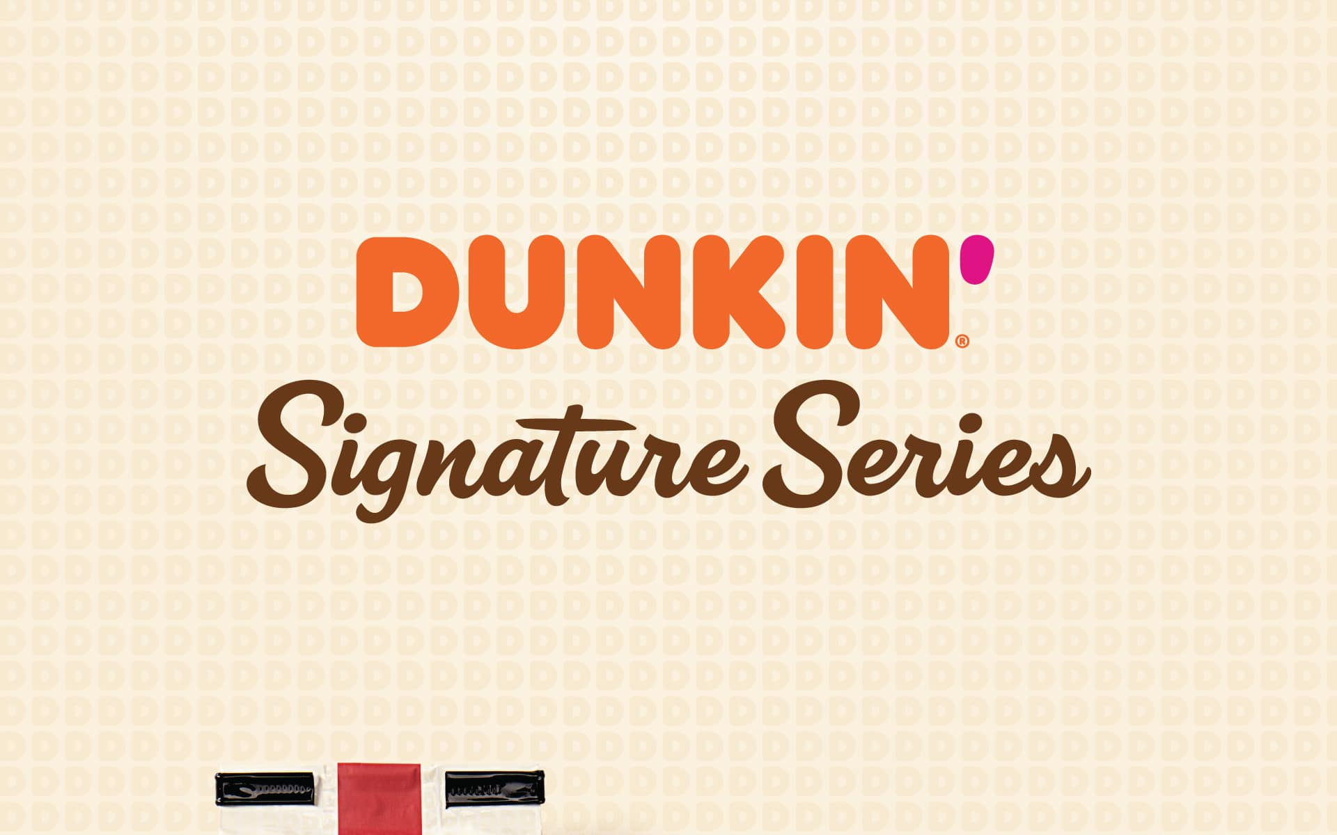 Dunkin Signature Series - Brand Identity