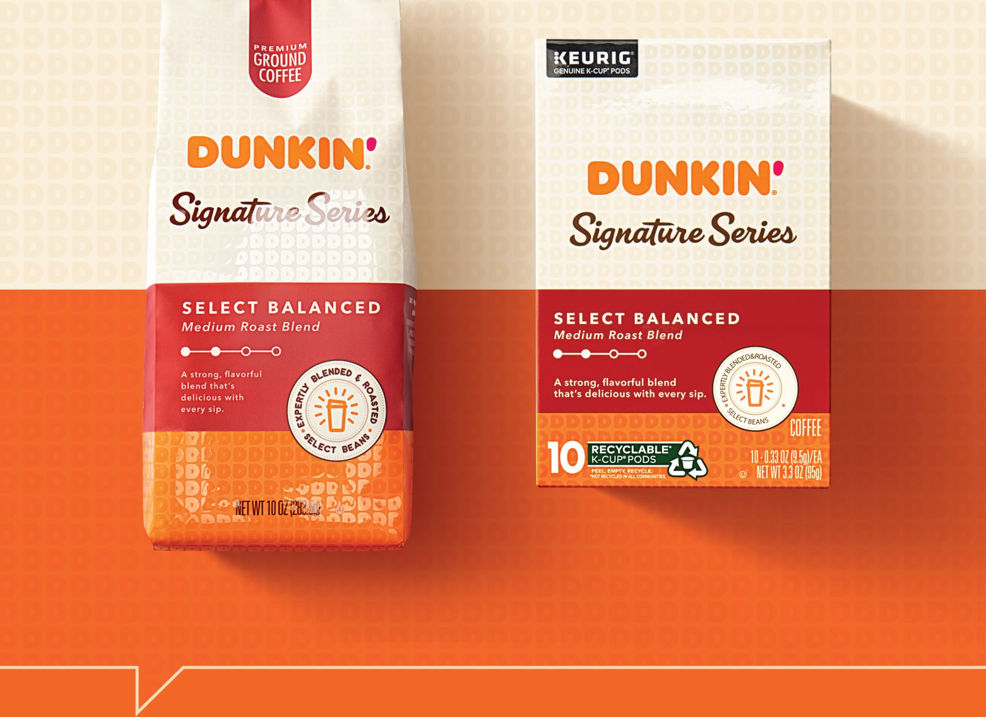Dunkin Signature Series - Packaging Design