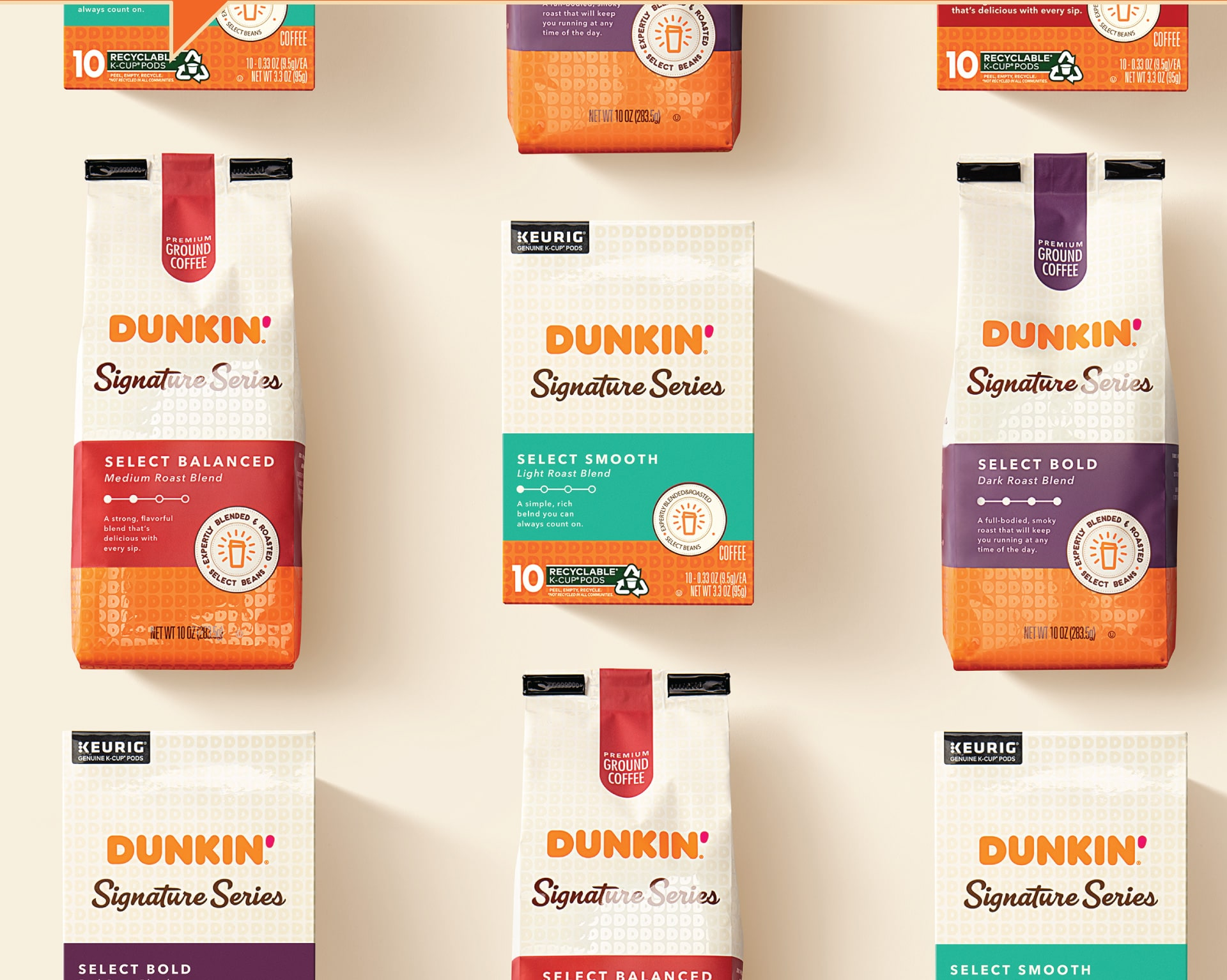 Dunkin Signature Series - Packaging Portfolio