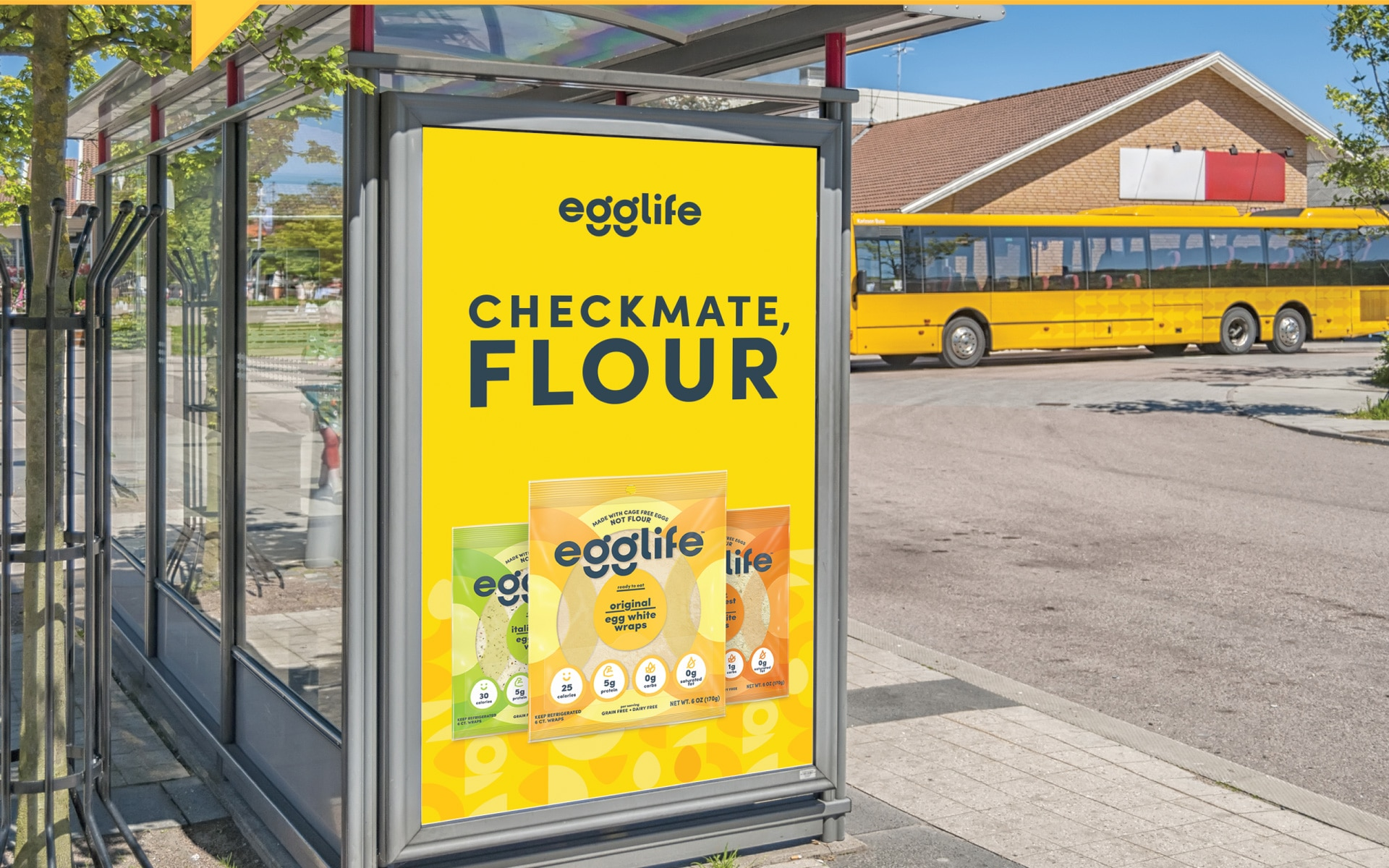 Egglife - Brand Activation Signage
