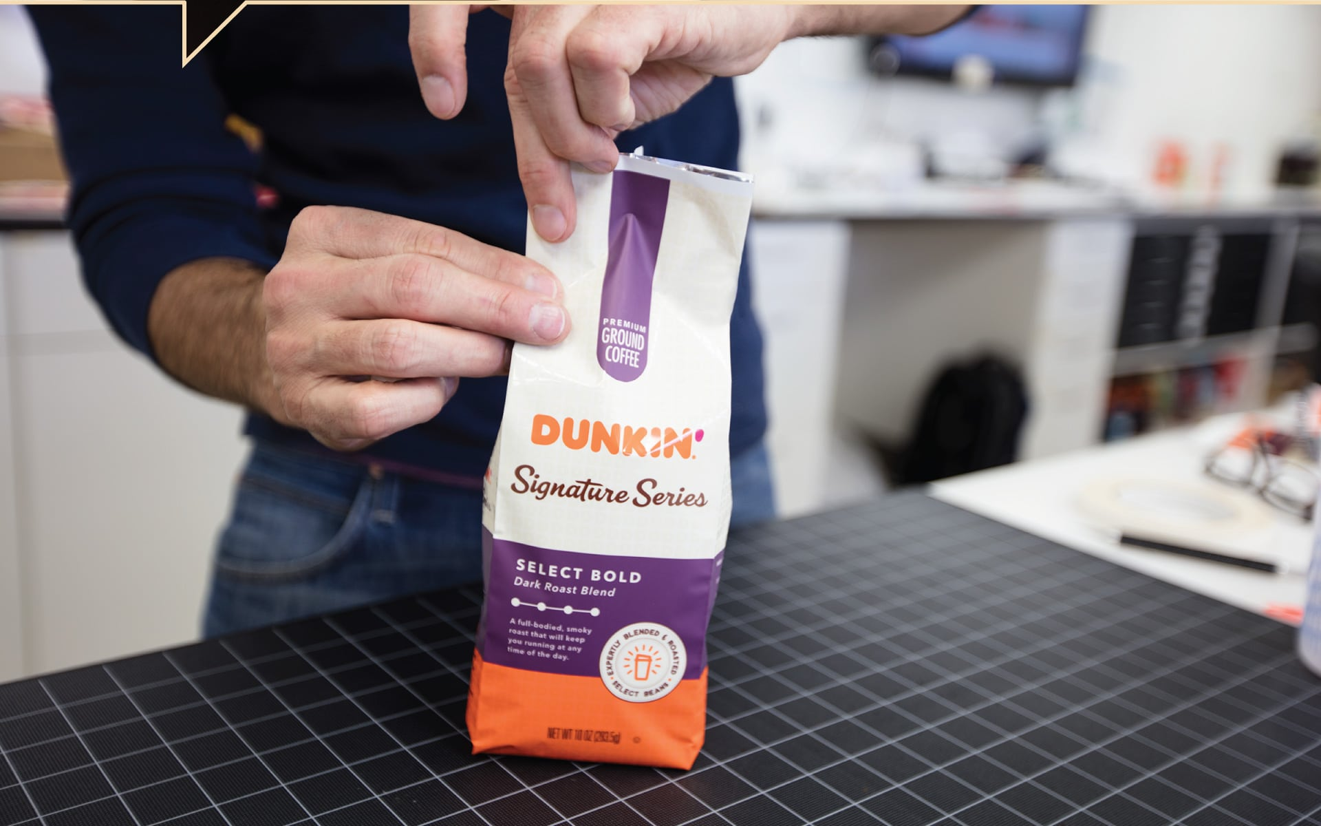 Dunkin Signature Series - Packaging Comp & Mock-Up