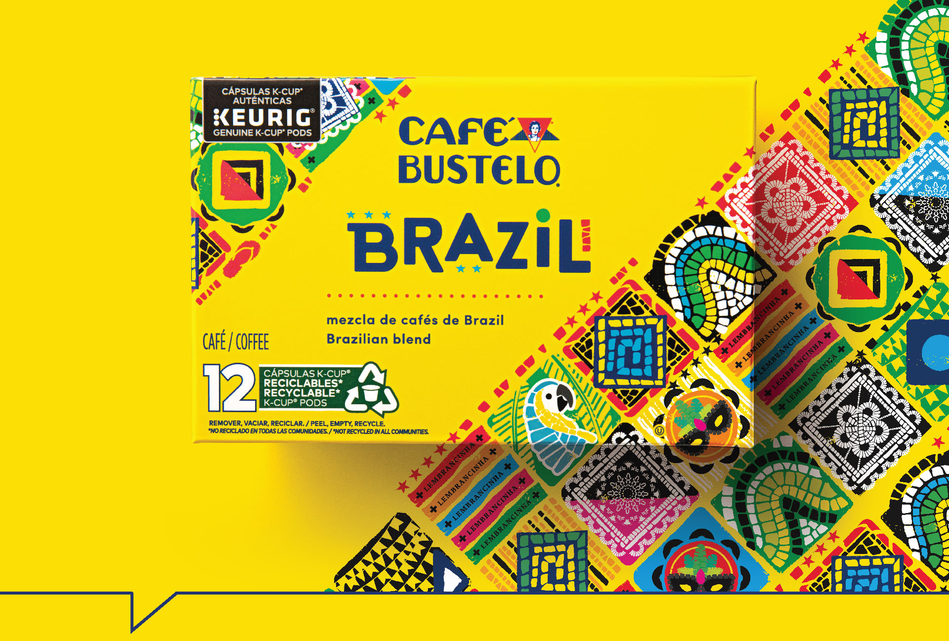 Cafe Bustelo Brazil - Packaging Design