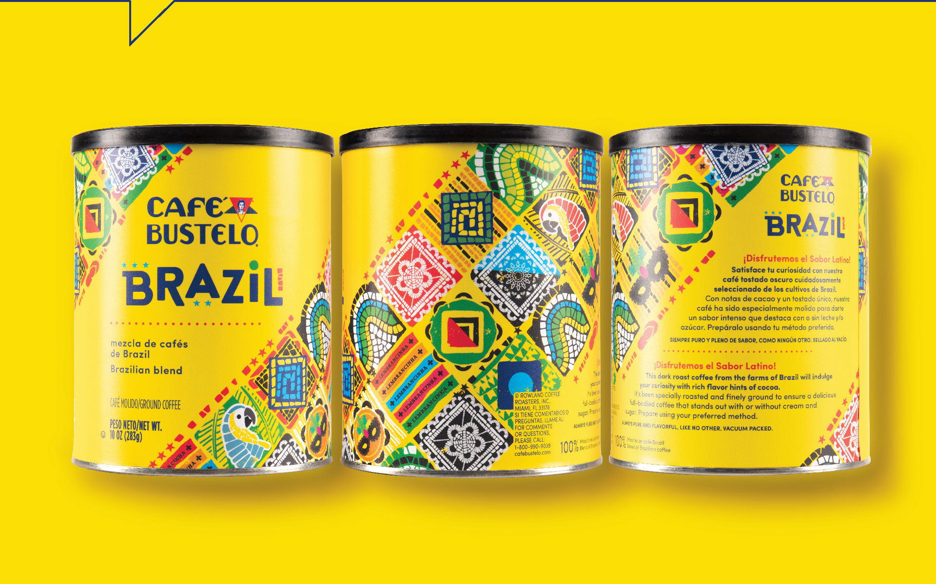 Cafe Bustelo Brazil  - Packaging Portfolio