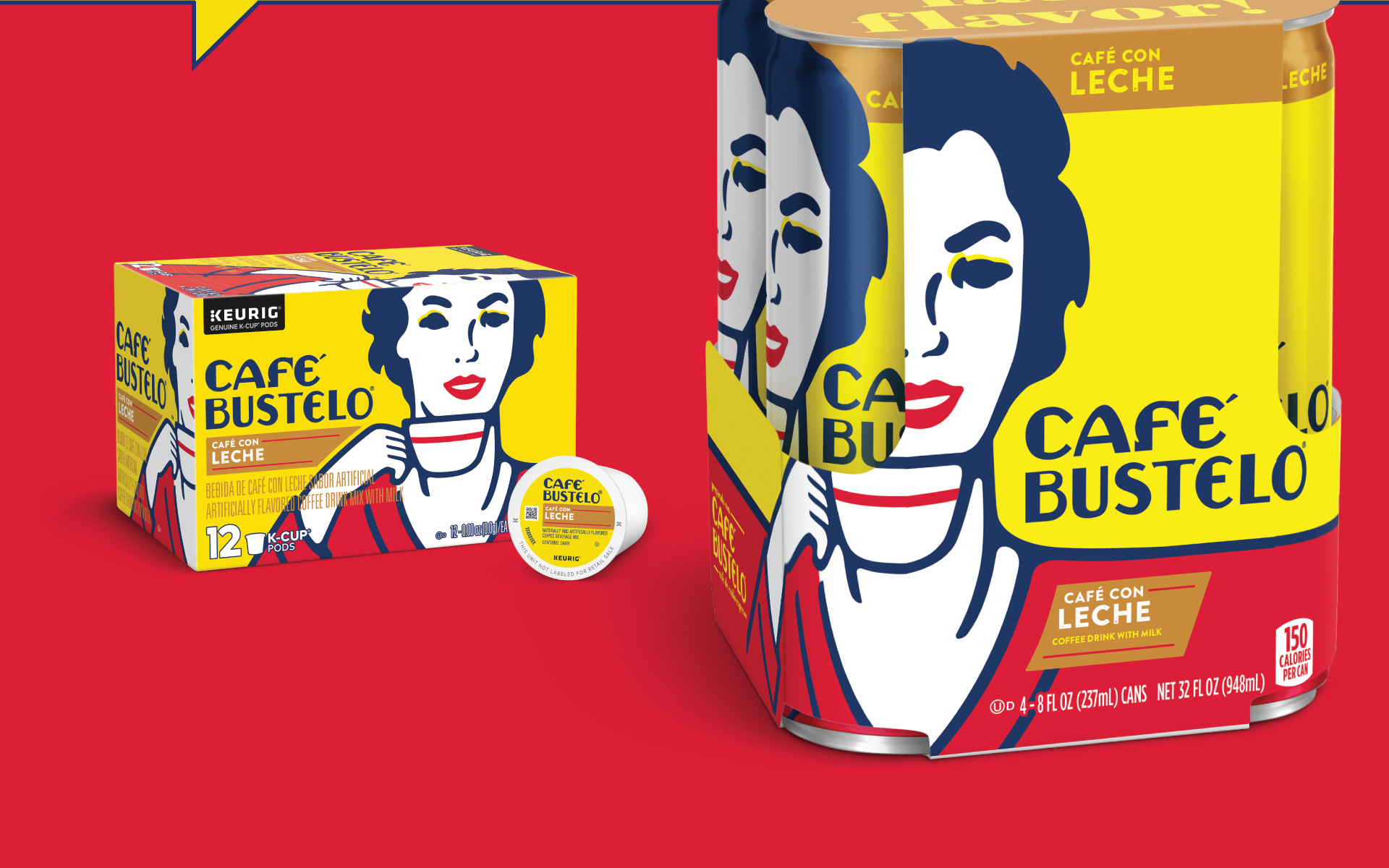 Cafe Bustelo - Packaging Portfolio