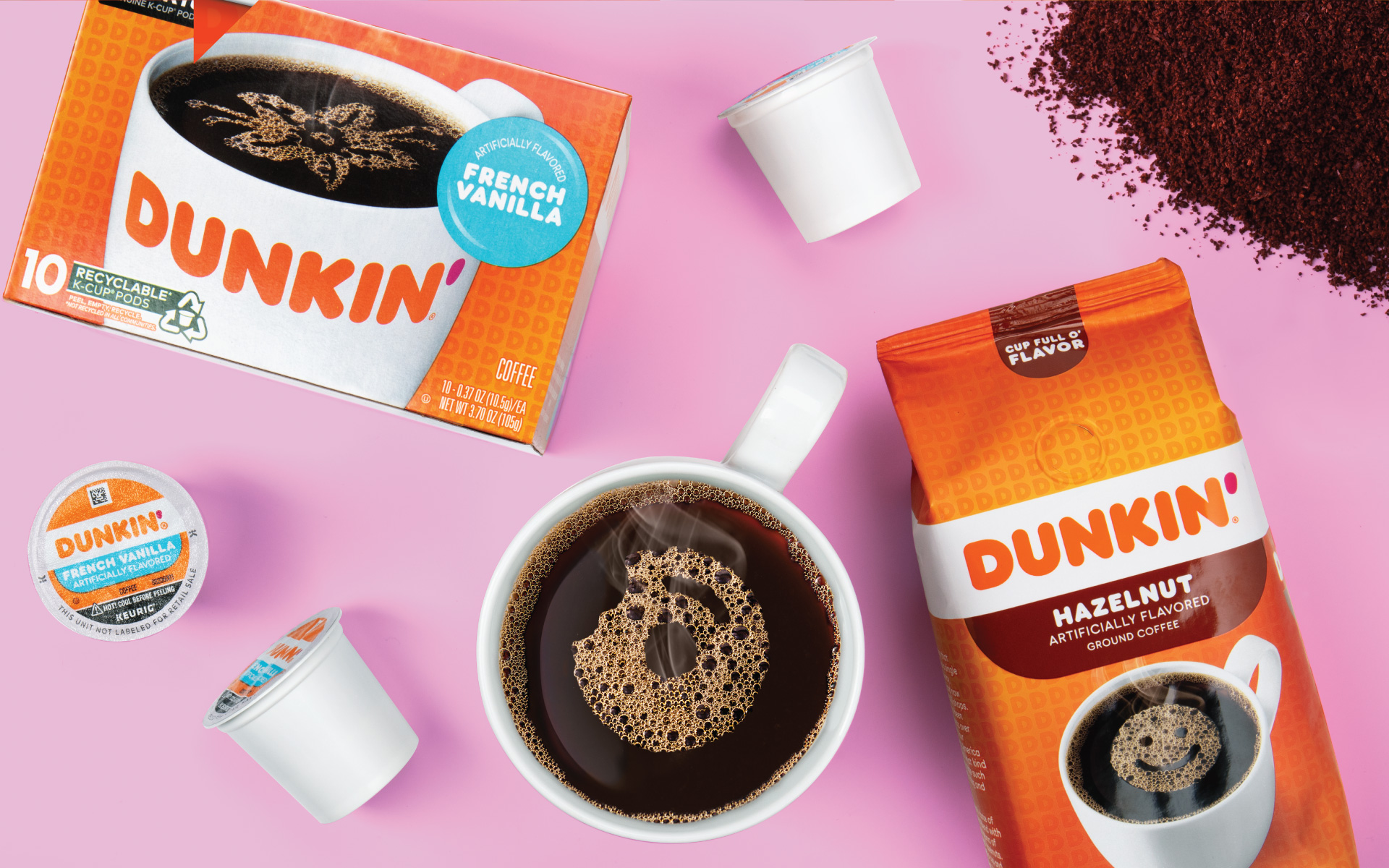 Dunkin - Packaging In-Use