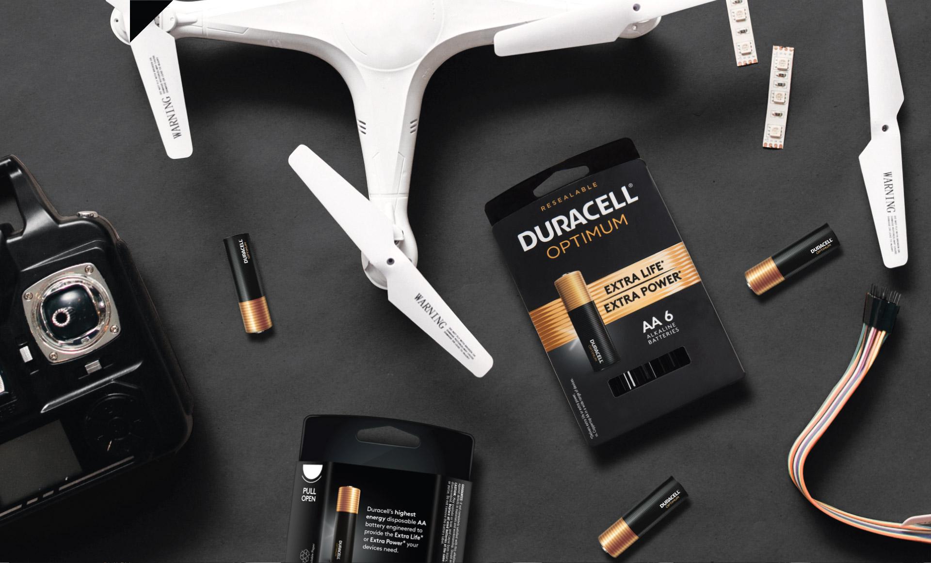 Duracell Optimum  - In Use