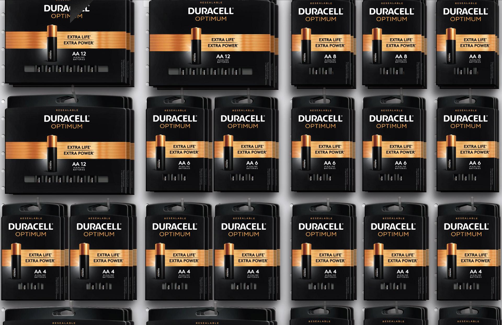 Duracell Optimum - Shelf Set
