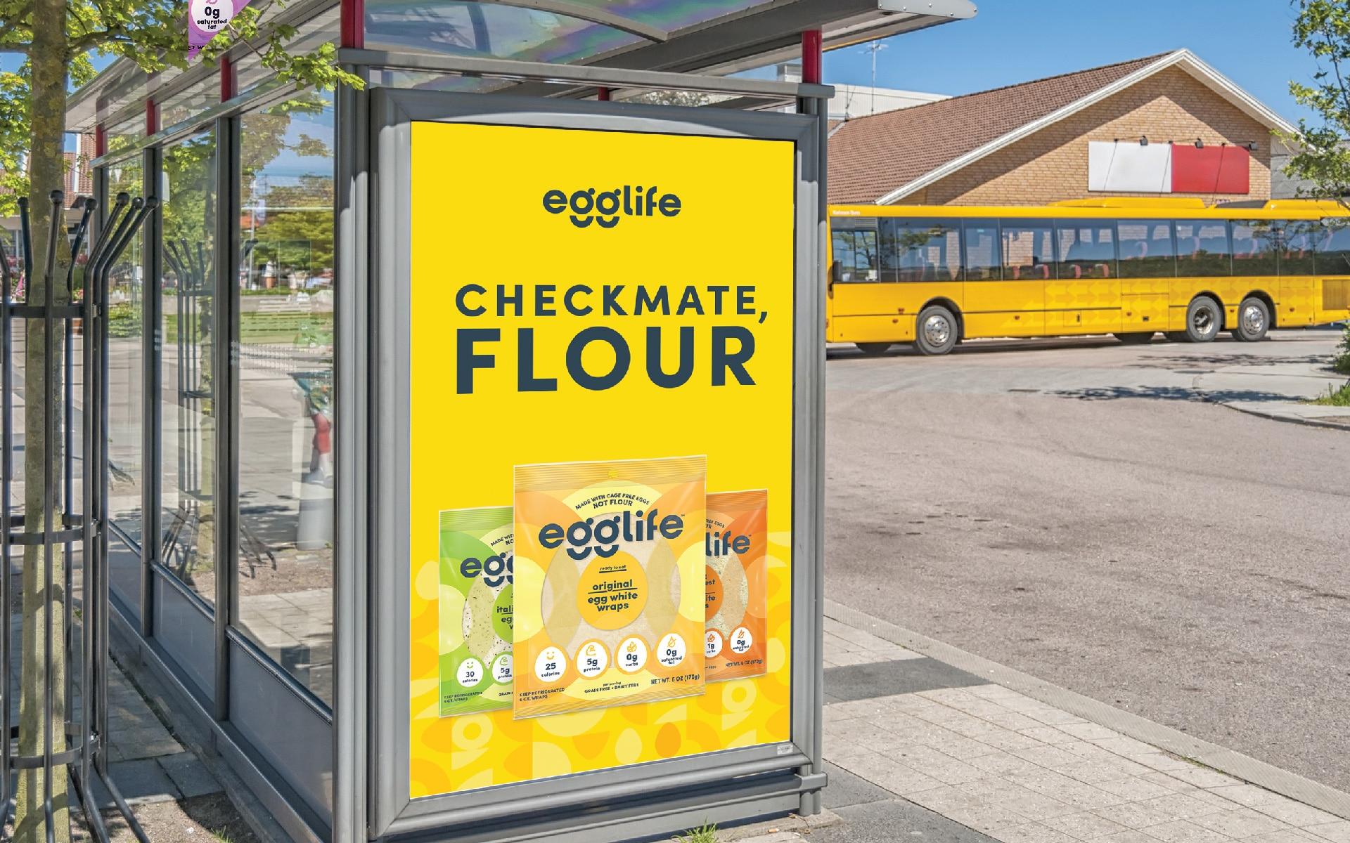 Egglife - Brand Activation Signage