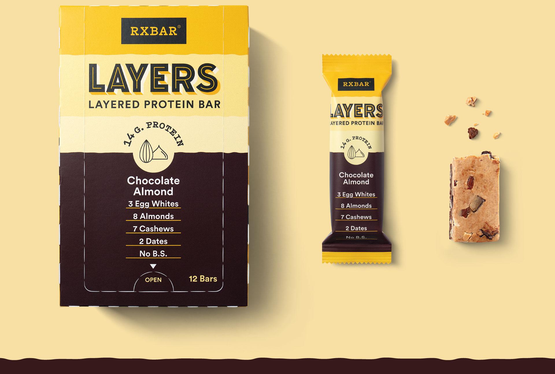 RXBAR Layers - Packaging Design