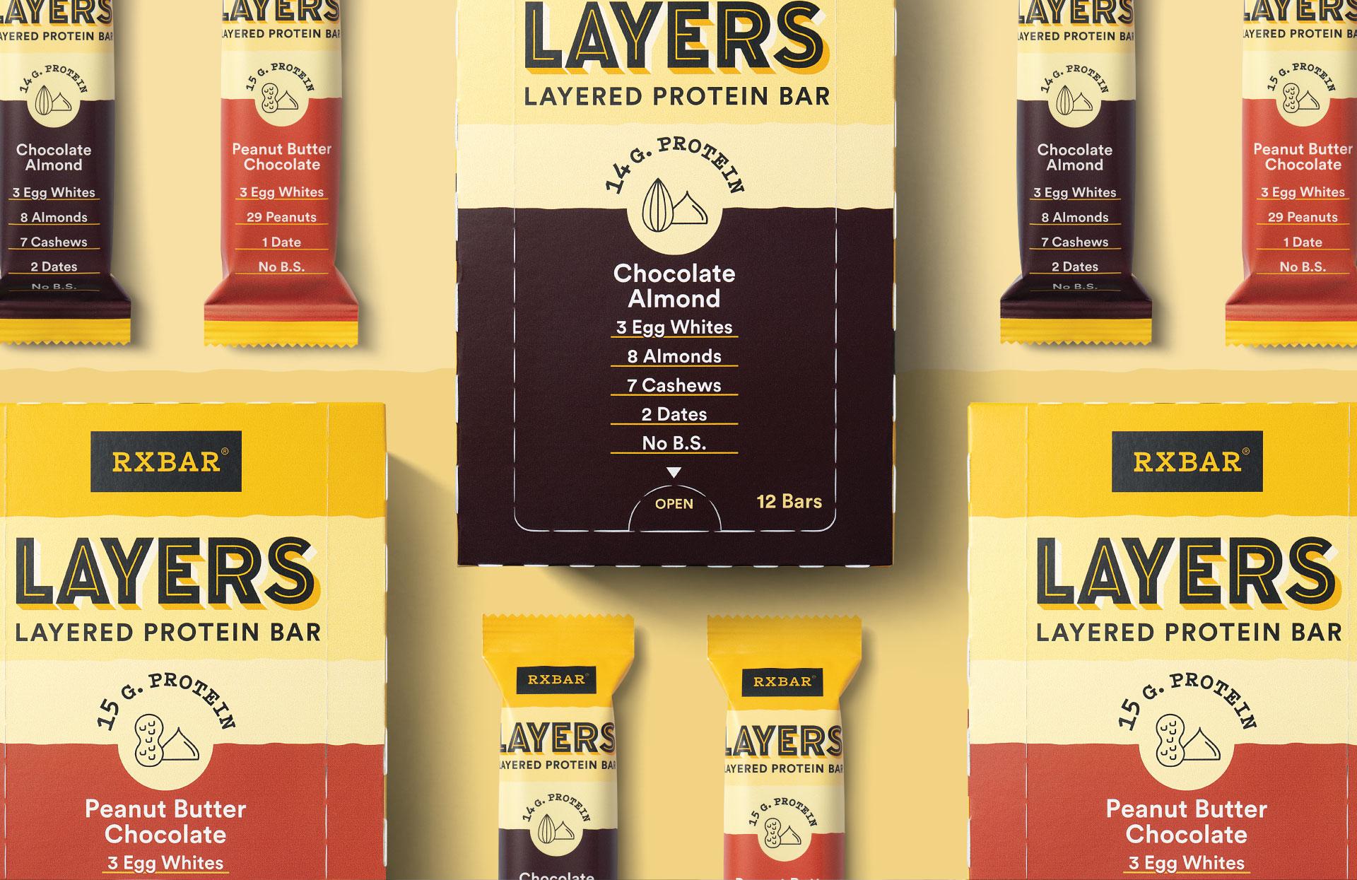 RXBAR Layers - Packaging Portfolio