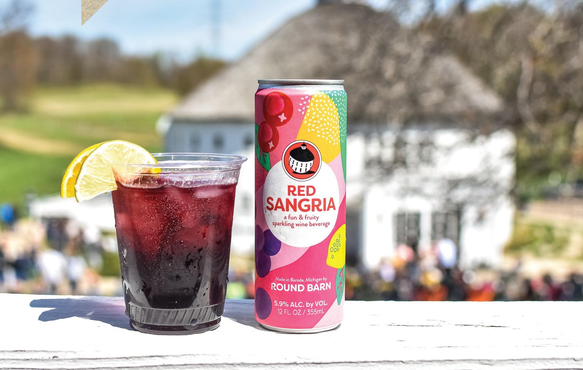 Round Barn Sangria - Brand Launch